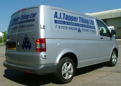 South-West-Signs-AJ-Tapper-Tiling-Vehicle-Graphics