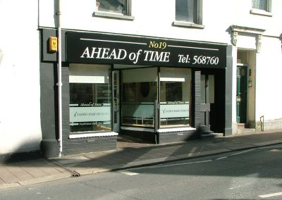 South-West-Signs-Ahead-Of-Time-Window-Graphics