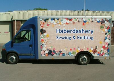South-West-Signs-Haberdashery-Vehicle-Graphics