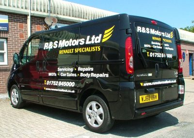 South-West-Signs-R-&-S-Motors-Vehicle-Graphics