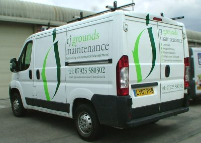 South-West-Signs-RJ-Grounds-Maintenance-Vehicle-Graphics