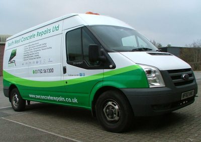 South-West-Signs-South-West-Concrete-Repairs-Vehicle-Graphics